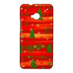 Xmas magic HTC One M7 Hardshell Case