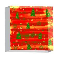 Xmas magic 5  x 5  Acrylic Photo Blocks