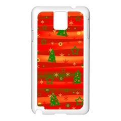 Xmas magic Samsung Galaxy Note 3 N9005 Case (White)