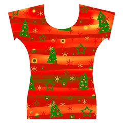 Xmas magic Women s Cap Sleeve Top