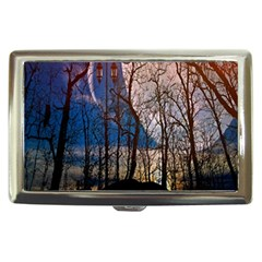 Full Moon Forest Night Darkness Cigarette Money Cases