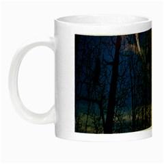 Full Moon Forest Night Darkness Night Luminous Mugs