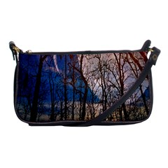 Full Moon Forest Night Darkness Shoulder Clutch Bags
