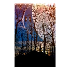 Full Moon Forest Night Darkness Shower Curtain 48  x 72  (Small)