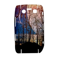 Full Moon Forest Night Darkness Bold 9700
