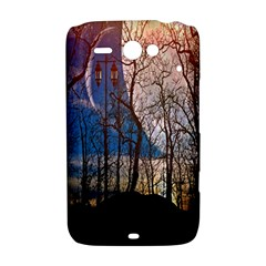 Full Moon Forest Night Darkness HTC ChaCha / HTC Status Hardshell Case