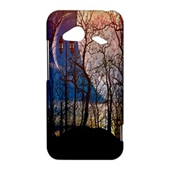 Full Moon Forest Night Darkness HTC Droid Incredible 4G LTE Hardshell Case