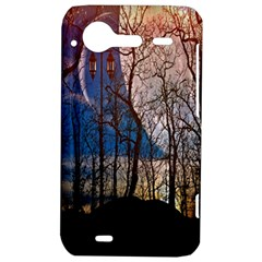 Full Moon Forest Night Darkness HTC Incredible S Hardshell Case
