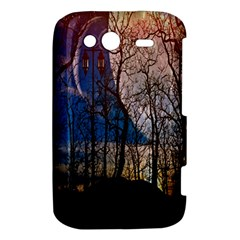 Full Moon Forest Night Darkness HTC Wildfire S A510e Hardshell Case