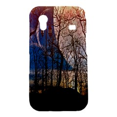 Full Moon Forest Night Darkness Samsung Galaxy Ace S5830 Hardshell Case
