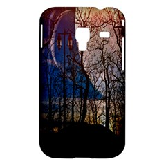 Full Moon Forest Night Darkness Samsung Galaxy Ace Plus S7500 Hardshell Case