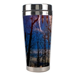 Full Moon Forest Night Darkness Stainless Steel Travel Tumblers