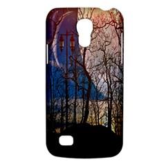 Full Moon Forest Night Darkness Galaxy S4 Mini