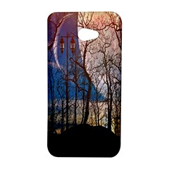 Full Moon Forest Night Darkness HTC Butterfly S/HTC 9060 Hardshell Case