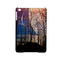 Full Moon Forest Night Darkness iPad Mini 2 Hardshell Cases
