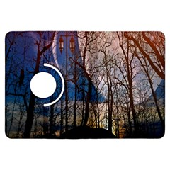 Full Moon Forest Night Darkness Kindle Fire HDX Flip 360 Case