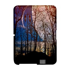 Full Moon Forest Night Darkness Amazon Kindle Fire (2012) Hardshell Case