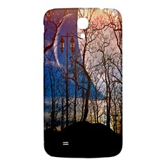 Full Moon Forest Night Darkness Samsung Galaxy Mega I9200 Hardshell Back Case