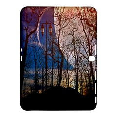 Full Moon Forest Night Darkness Samsung Galaxy Tab 4 (10.1 ) Hardshell Case