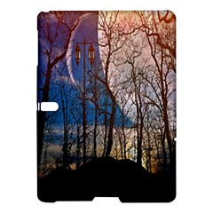 Full Moon Forest Night Darkness Samsung Galaxy Tab S (10.5 ) Hardshell Case