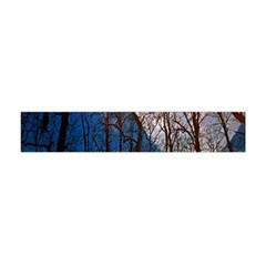 Full Moon Forest Night Darkness Flano Scarf (Mini)