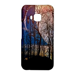 Full Moon Forest Night Darkness HTC One M9 Hardshell Case