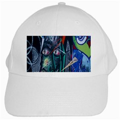 Graffiti Art Urban Design Paint  White Cap