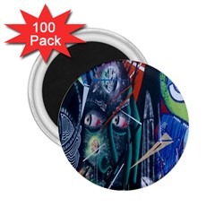 Graffiti Art Urban Design Paint  2.25  Magnets (100 pack)