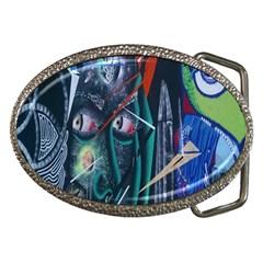 Graffiti Art Urban Design Paint  Belt Buckles