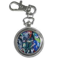 Graffiti Art Urban Design Paint  Key Chain Watches