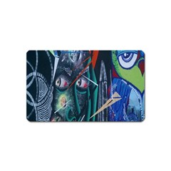 Graffiti Art Urban Design Paint  Magnet (Name Card)