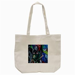 Graffiti Art Urban Design Paint  Tote Bag (Cream)