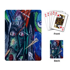 Graffiti Art Urban Design Paint  Playing Card
