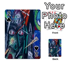 Graffiti Art Urban Design Paint  Playing Cards 54 Designs