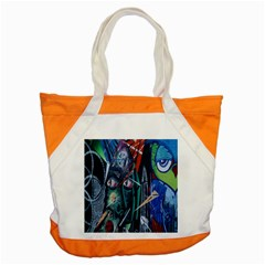 Graffiti Art Urban Design Paint  Accent Tote Bag