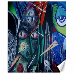 Graffiti Art Urban Design Paint  Canvas 16  x 20