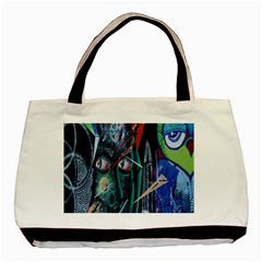 Graffiti Art Urban Design Paint  Basic Tote Bag (Two Sides)