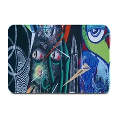 Graffiti Art Urban Design Paint  Plate Mats