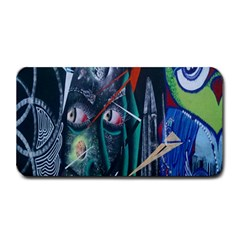 Graffiti Art Urban Design Paint  Medium Bar Mats