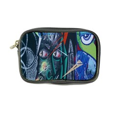 Graffiti Art Urban Design Paint  Coin Purse