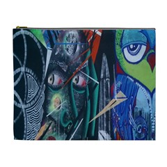 Graffiti Art Urban Design Paint  Cosmetic Bag (XL)