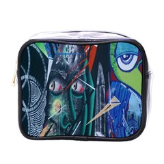 Graffiti Art Urban Design Paint  Mini Toiletries Bags