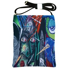 Graffiti Art Urban Design Paint  Shoulder Sling Bags