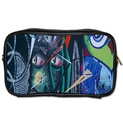 Graffiti Art Urban Design Paint  Toiletries Bags 2-Side