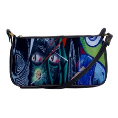 Graffiti Art Urban Design Paint  Shoulder Clutch Bags