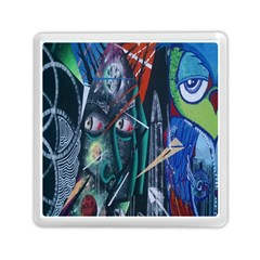 Graffiti Art Urban Design Paint  Memory Card Reader (Square)