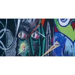 Graffiti Art Urban Design Paint  YOU ARE INVITED 3D Greeting Card (8x4)
