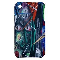 Graffiti Art Urban Design Paint  Apple iPhone 3G/3GS Hardshell Case