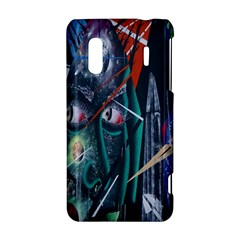 Graffiti Art Urban Design Paint  HTC Evo Design 4G/ Hero S Hardshell Case