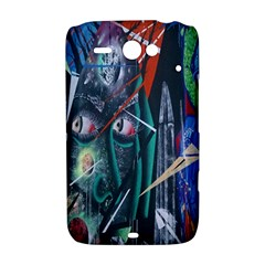 Graffiti Art Urban Design Paint  HTC ChaCha / HTC Status Hardshell Case